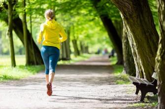 Woman Runner Running Jogging