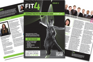 FIT4 issue 2 – Health, fitness & wellbeing newsletter