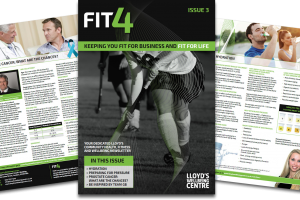 FIT4 issue 3 – Health, fitness & wellbeing newsletter