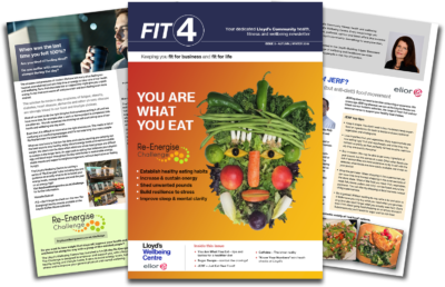 FIT4 issue 5 - Lloyd's Community health and wellbeing newsletter