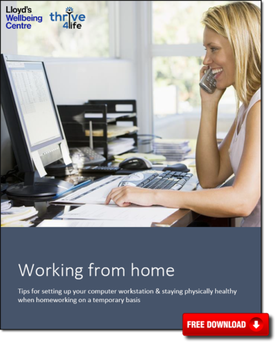 Working from home - eBook cover image - issue1