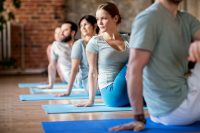 Yoga at the Lloyd's Wellbeing Centre
