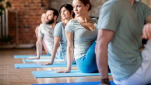 Yoga at Lloyds